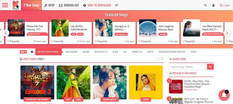The Best Website to Download K-pop Songs Online for Free