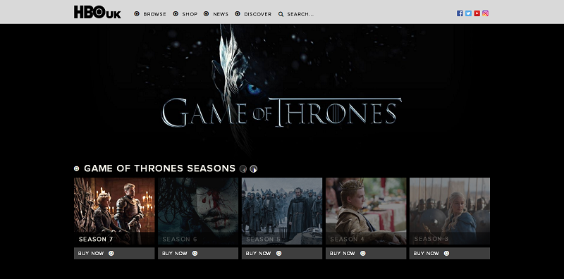 Easily Download and Stream Game of Thrones All Seasons in HD