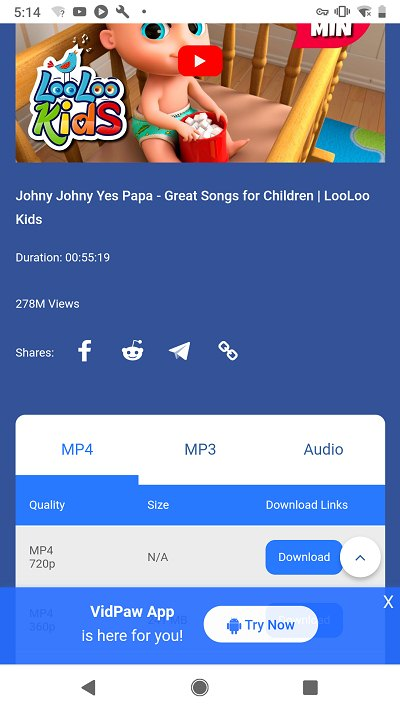 Download Johny Johny Yes Papa Rhymes on iPhone/Android/PC
