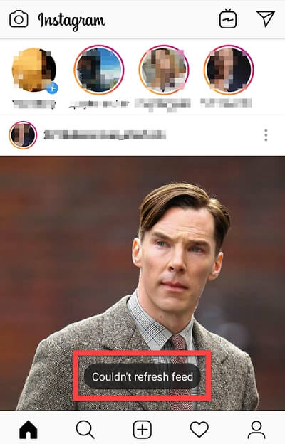 Solved Fix Couldn T Refresh Feed Instagram Issue