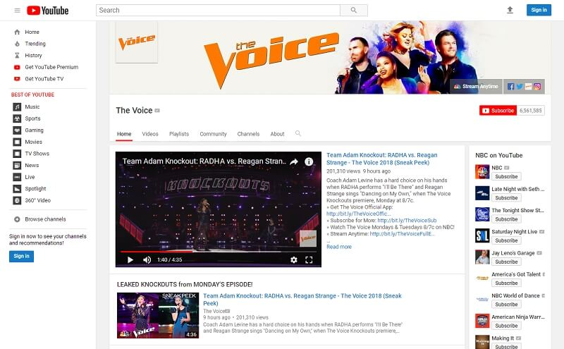 Full Tutorial to Download Soundtrack from The Voice 2018 Online