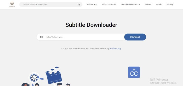 download subtitle app for movies