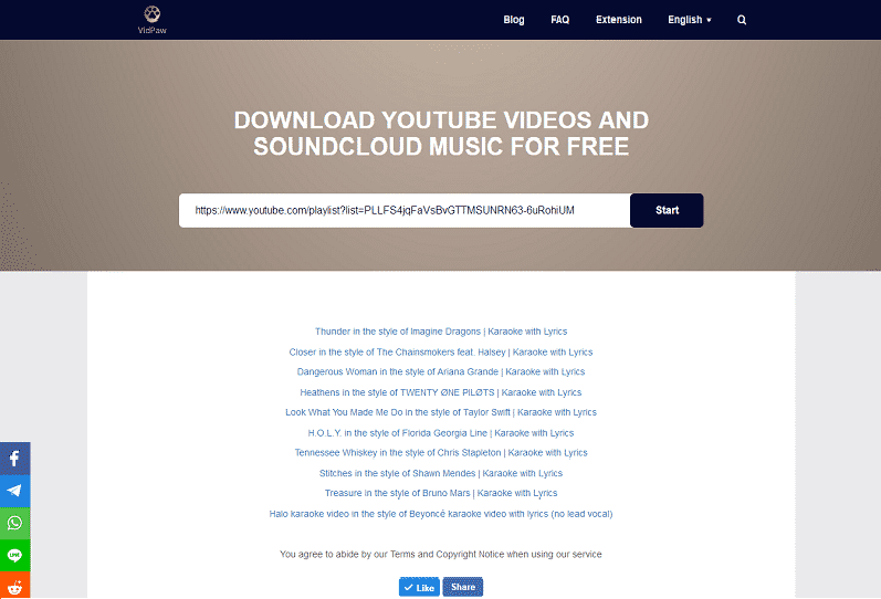 youtube lyric download