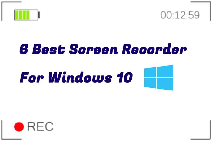 Best Screen Recorder Windows 10