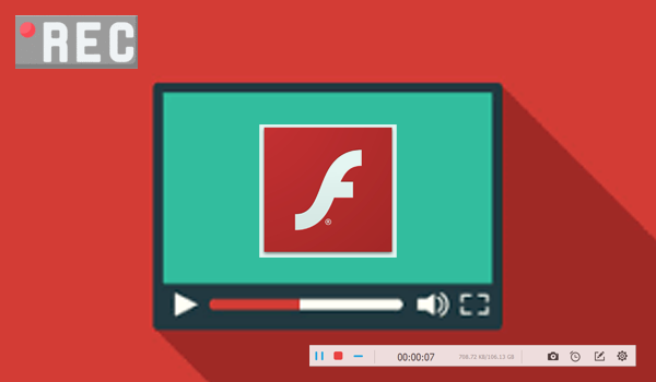 How to Screen Capture Flash Videos from Website to MP4