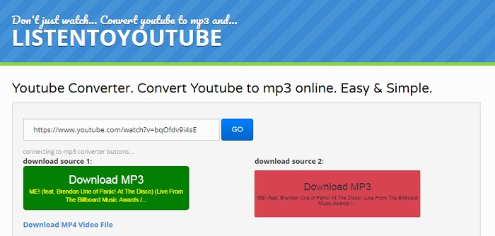 YouTube to MP3] Top 8 ListentoYouTube Alternatives Recommended