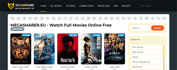 safe website to watch movies