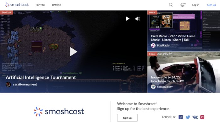 Top 8 Online Streaming Sites Like Twitch 2019