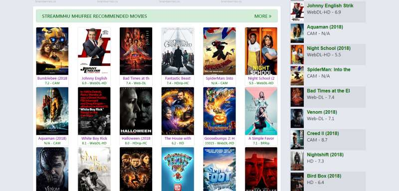 10 Best Sites for Streaming Movies Freely 2018