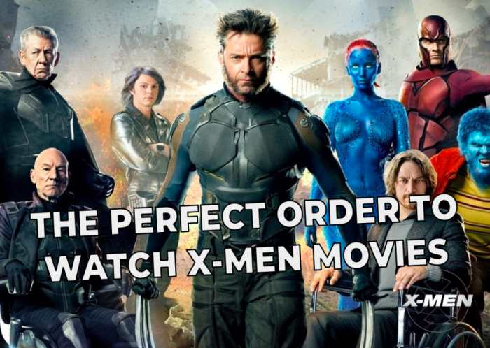 Watch X-Men Movies in Chronological Order